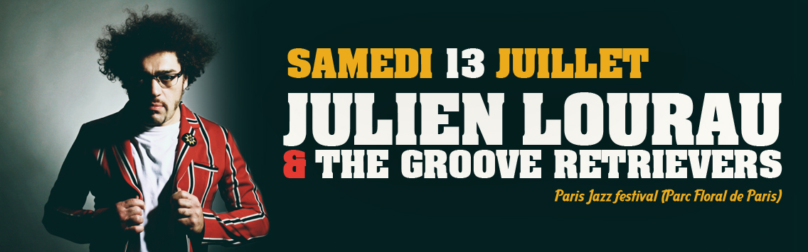 colore-concert_Julien Lourrau - Paris Jazz Festival - 13 juillet 2019